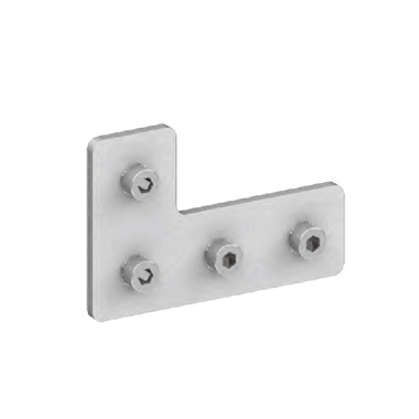 L型固定板-含螺钉套件