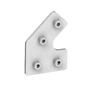 45度固定板-含螺丝套件