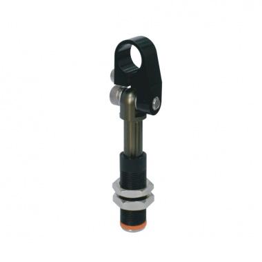 螺纹主体带可调节钳口的非可旋转悬件